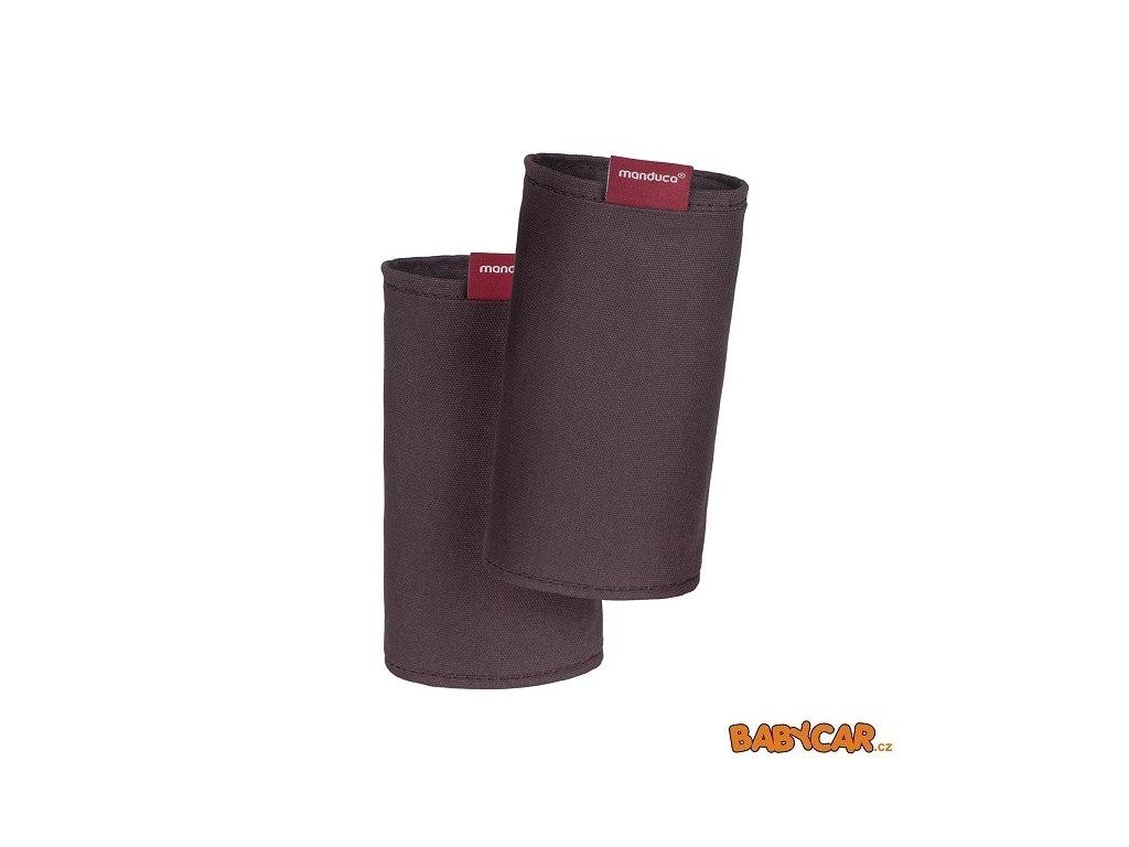 MANDUCA ochranné návleky na popruhy FUMBEE SPECIAL EDITION CZ Coffee Brown