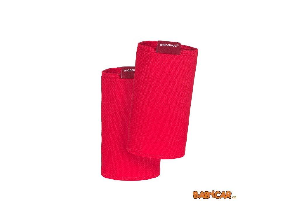 MANDUCA ochranné návleky na popruhy FUMBEE SPECIAL EDITION CZ Chilli Red