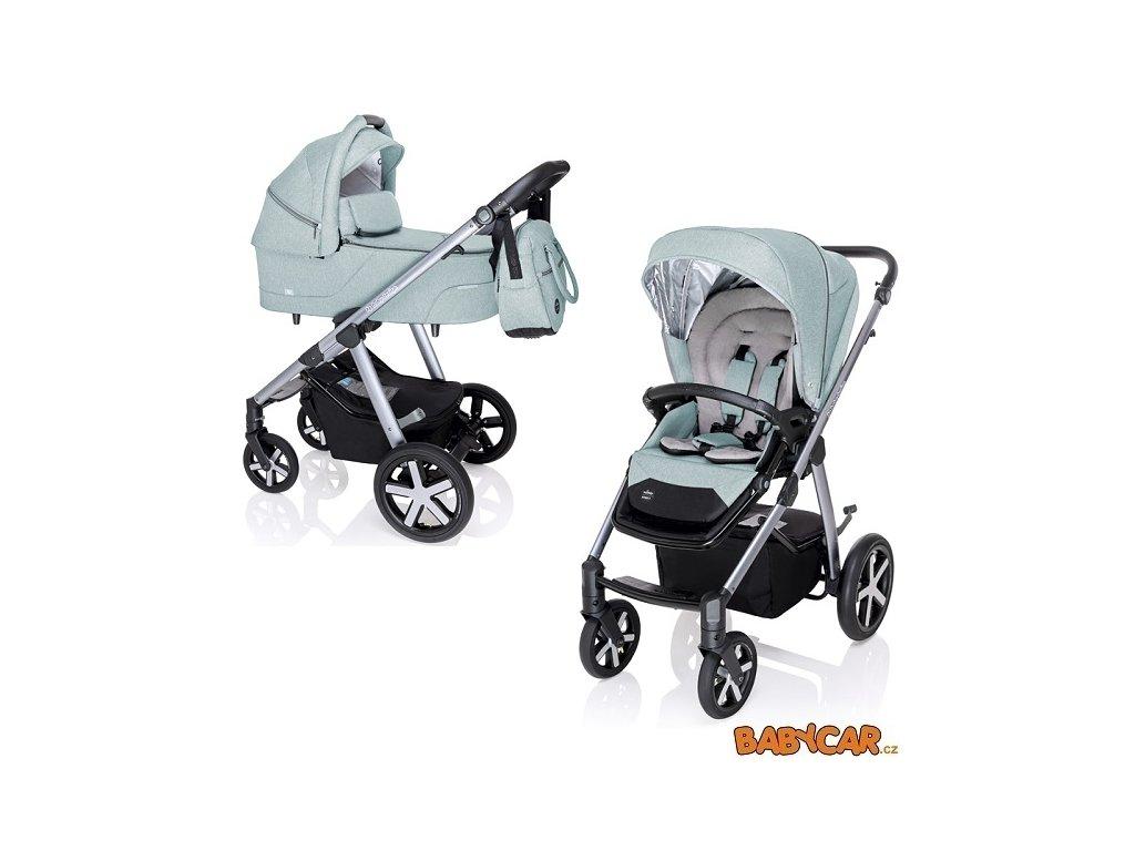 BabyDesignKombinovanyKocarekHusky2020ZimniVybavaTurquoise05
