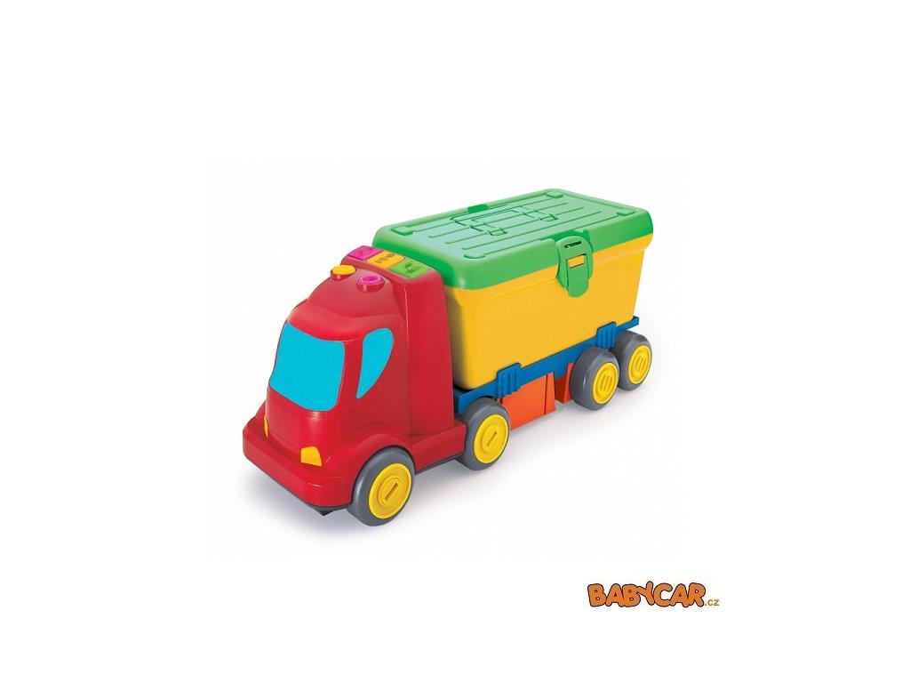 B-KIDS náklaďák s boxem na nářadí