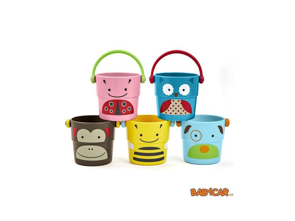 SKIP HOP hračka do vody ZOO Sada kbelíků