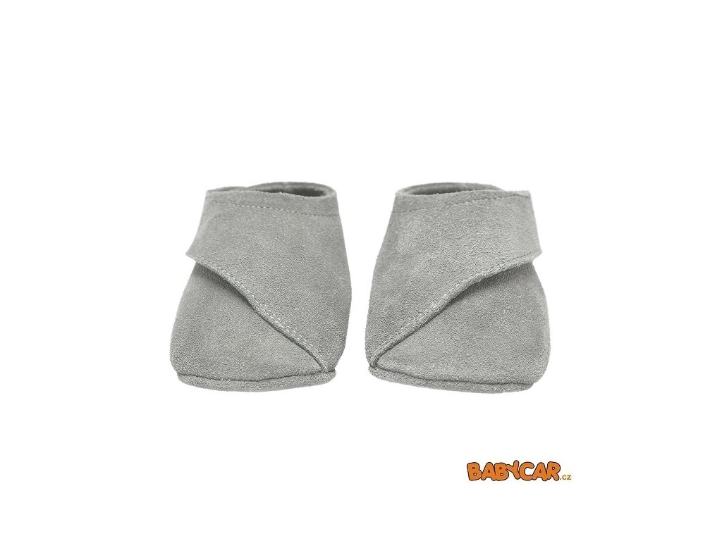 LODGER capáčky WALKER LOAFER Light Grey 3-6m