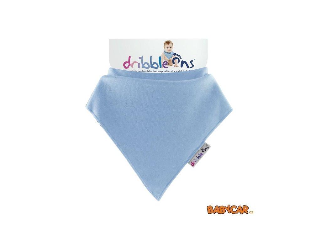 DRIBBLE ONS slintáček/šátek CLASSIC Baby Blue