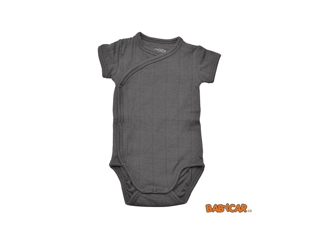 LODGER body ROMPER SOLID SHORT SLEEVES Carbon vel. 62