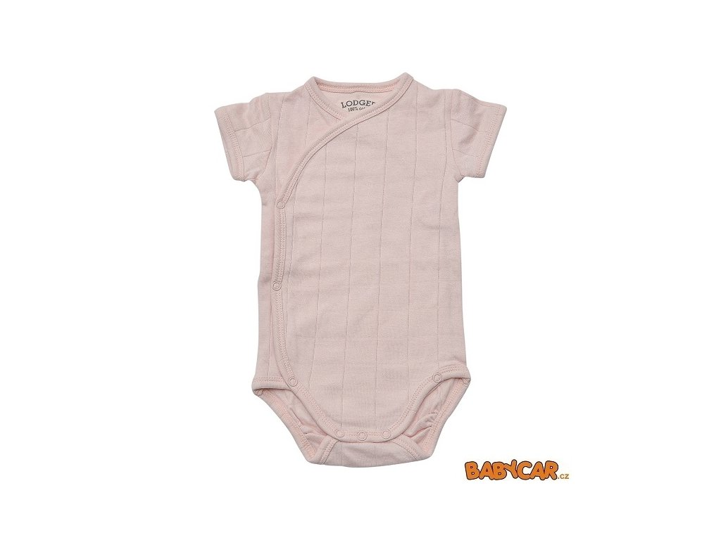 LODGER body ROMPER SOLID SHORT SLEEVES Soft-Skin vel. 62