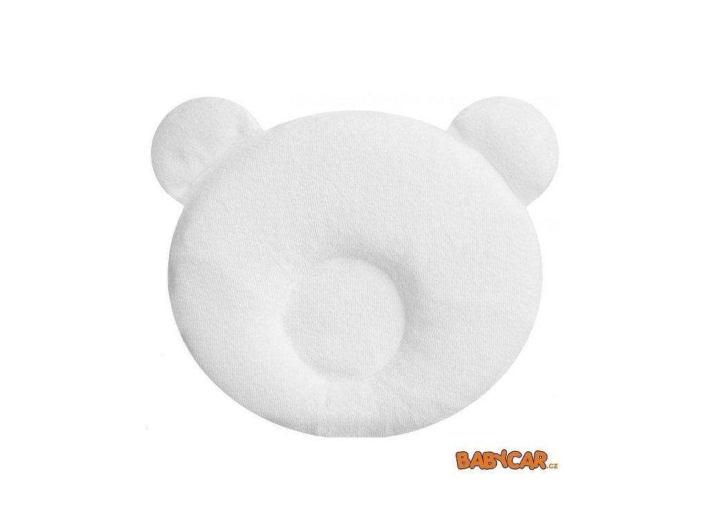 CANDIDE polštářek PANDA Bílá