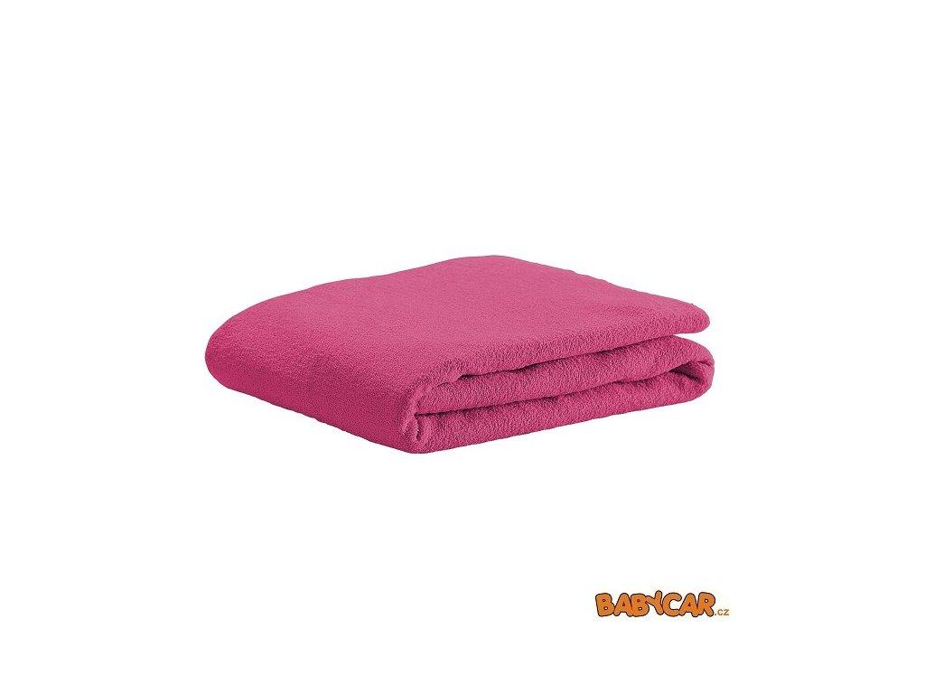 ODENWÄLDER froté prostěradlo 40x90cm Soft Pink