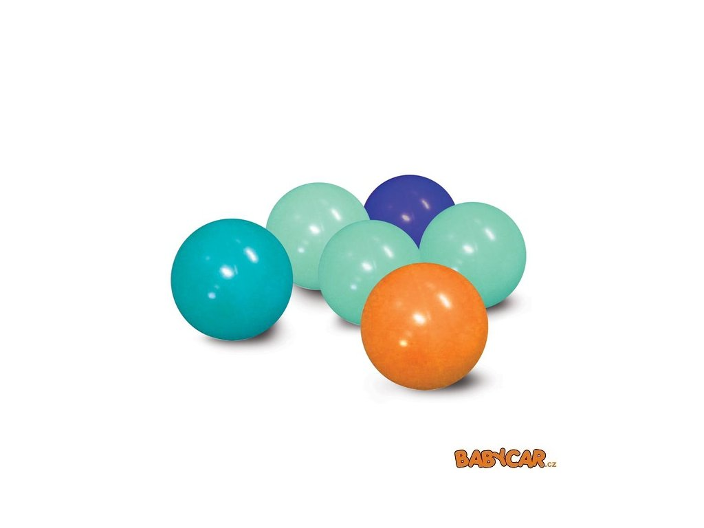 LUDI míčky v úložné tašce Modré / Oranžové 75 ks