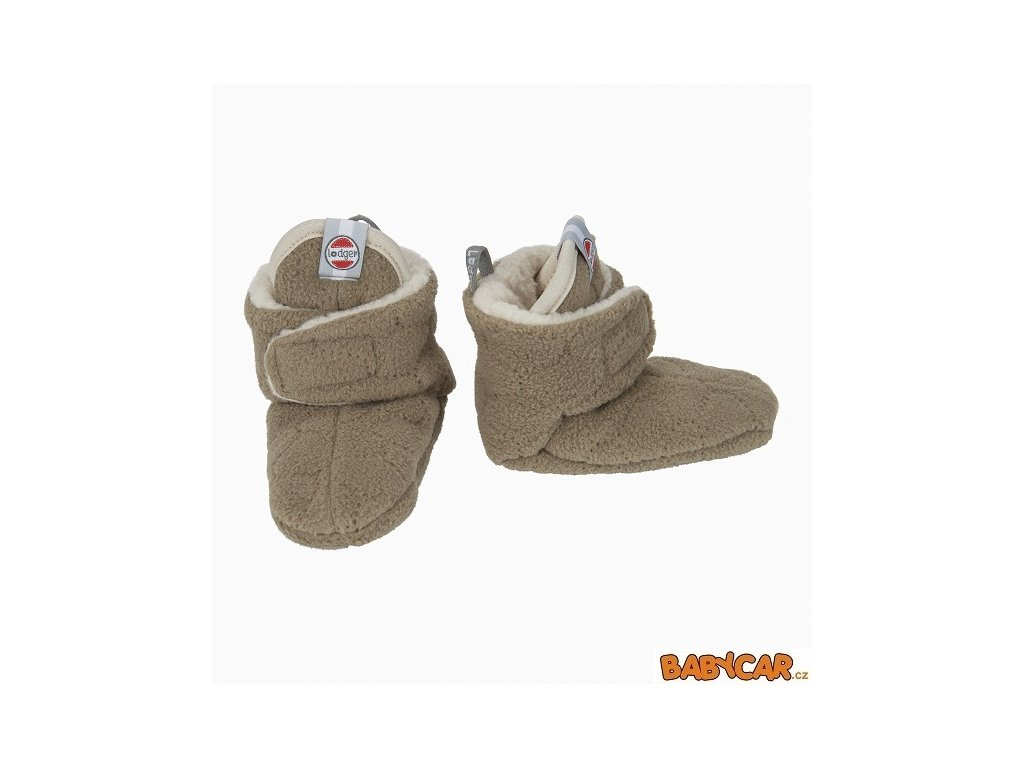 LODGER capáčky SLIPPER BOTANIMAL Nutty 12-18m