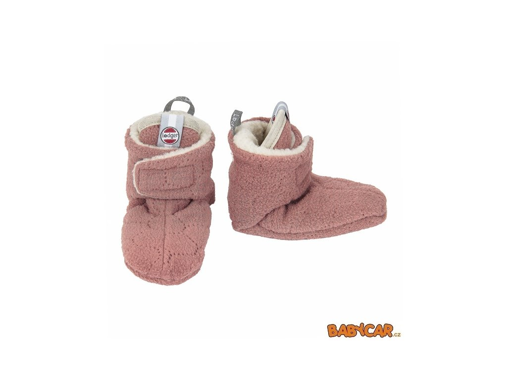 LODGER capáčky SLIPPER BOTANIMAL Plush 12-18m