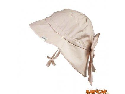 ELODIE DETAILS klobouček SUN HAT Powder Pink 0-6m DOPRODEJ!