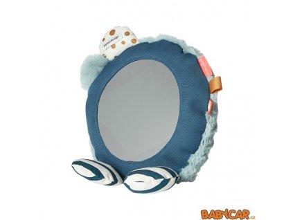 DONE BY DEER zrcadlo na podlahu Modrá