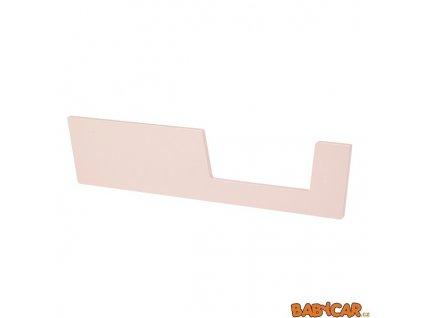 DONE BY DEER zábrana k postýlce 120x60cm Růžová