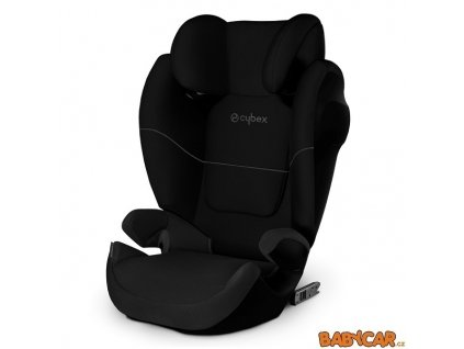 CYBEX autosedačka SOLUTION M-FIX SL SILVER 2020 Pure Black DOPRODEJ!