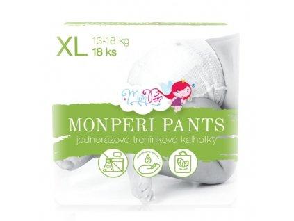 MONPERI jednorázové plenkové kalhotky PANTS XL 13-18kg