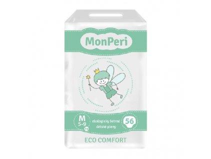 MONPERI jednorázové pleny ECO COMFORT M 5-9kg
