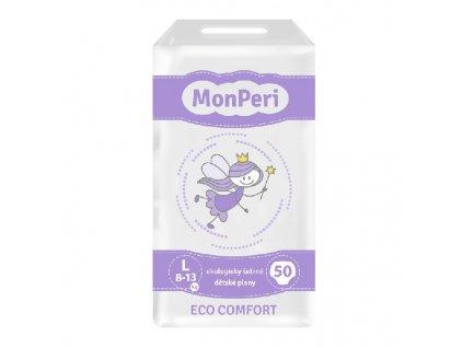 MONPERI jednorázové pleny ECO COMFORT L 8-13kg