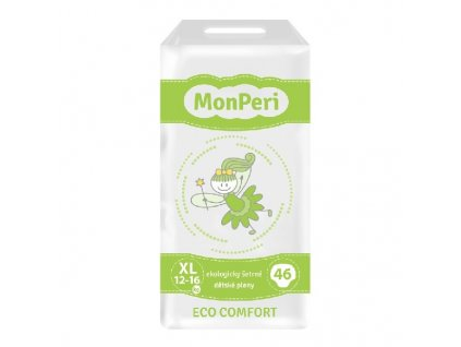 MONPERI jednorázové pleny ECO COMFORT XL 12-16kg