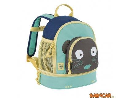 LÄSSIG dětský batoh MINI BACKPACK Wildlife Meerkat
