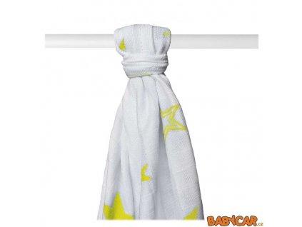 KIKKO bambusová osuška XKKO®BMB 90x100cm 1ks Lemon Stars