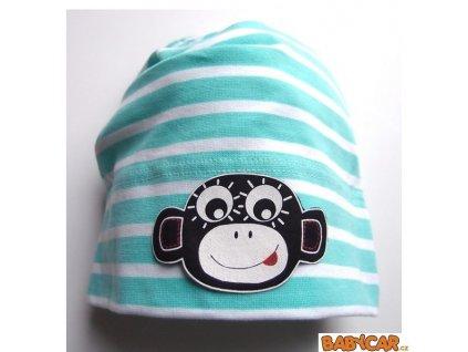 PINKIE čepice Menthol Strips Monkey 3-6let