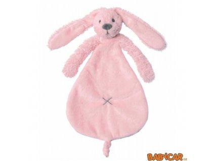 HAPPY HORSE králíček přítulka RICHIE Růžová