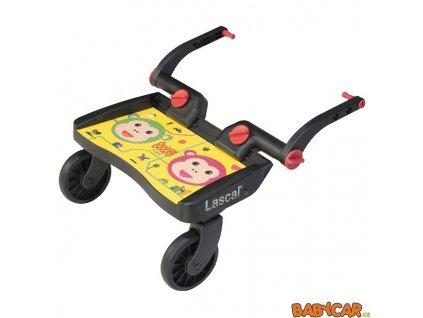 LASCAL stupátko za kočárek BUGGY BOARD MINI Monkey/Žlutá