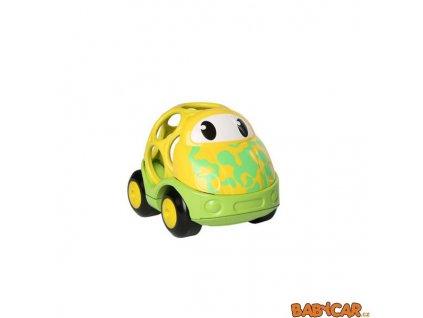 OBALL autíčko GO GRIPPERS CUSTOM RIDES 18m+ 1ks Žlutá/Zelená