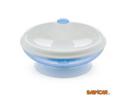 NUVITA ohřívací talířek s přísavkou Modrá DOPRODEJ!