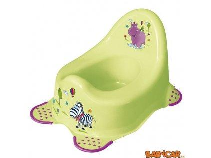 PRIMA BABY dětský nočník HIPPO Zelená
