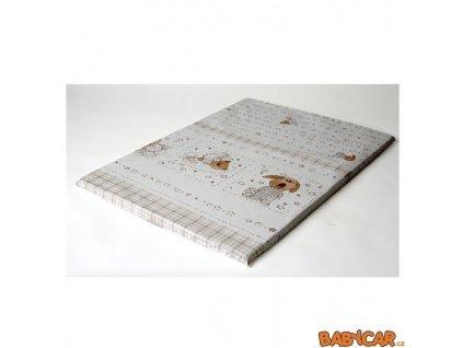 LADOTEX přebalovací podložka 50x70cm Ospalý Medvídek/bílá