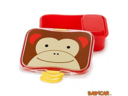 SKIP HOP krabička na svačinu ZOO Opička