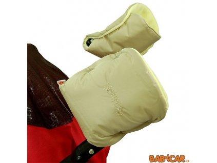 EMITEX rukavice ke kočárku Béžová/Žlutá