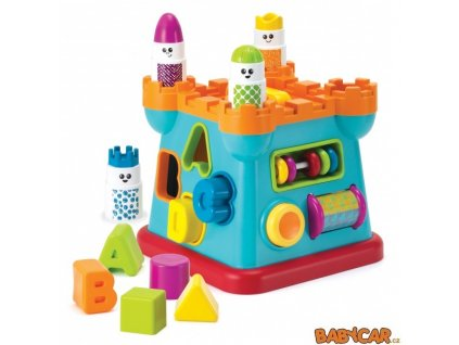 B-KIDS hrad s vkládacími tvary