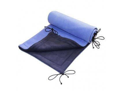 EMITEX deka FLEECE 70x100cm Tmavě Modrá/Světle Modrá
