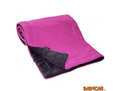 EMITEX deka FLEECE 70x100cm Antracit/Fuchsia