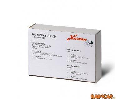 HARTAN adaptér na TOPLINE,RACER,VIP,SKY, XPERIA,SKATER pro MAXI-COSI,CYBEX,KIDDY