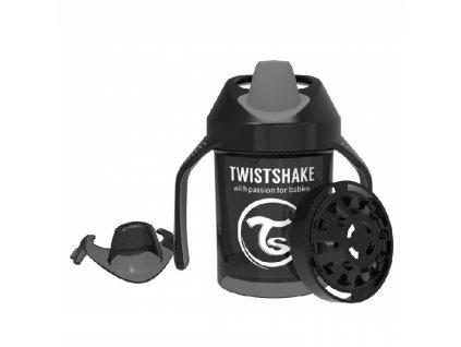 TWISTSHAKE učící hrnek 230ml Černá