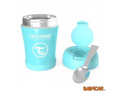 TWISTSHAKE termoska na jídlo Pastelově Modrá