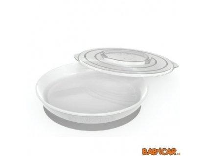 TWISTSHAKE talíř +6m Bílá