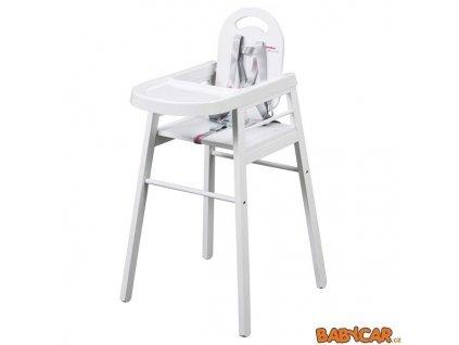 COMBELLE jídelní židlička LILI Bílá DOPRODEJ!