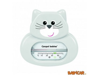 CANPOL BABIES teploměr do vany Kočka