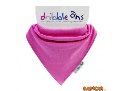 DRIBBLE ONS slintáček/šátek CLASSIC Fuchsia