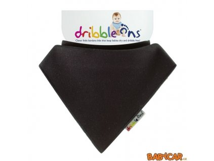 DRIBBLE ONS slintáček/šátek BRIGHT Charcoal