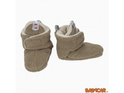 LODGER capáčky SLIPPER BOTANIMAL Nutty 6-12m