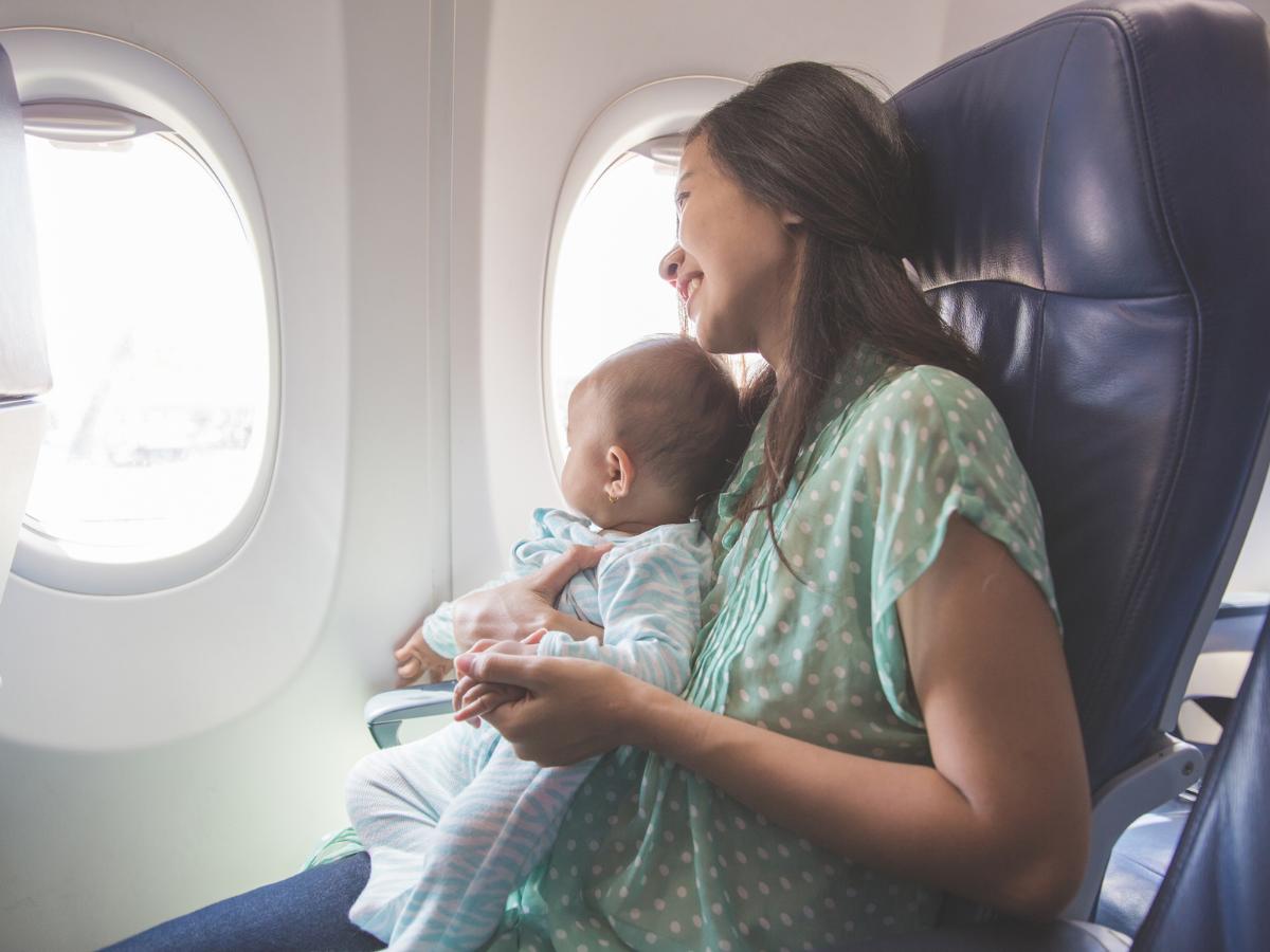 Cestování s miminkem a dětmi v letadle