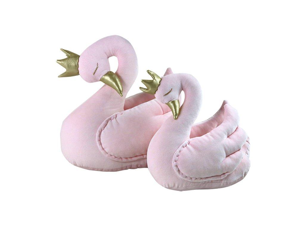 Královská labuť růžová (Velikost 30 cm)
