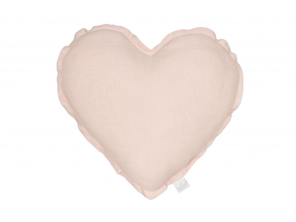 1326 polstar lneny srdce pudrova ruzova