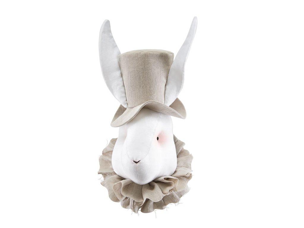 lněný klobouk béž