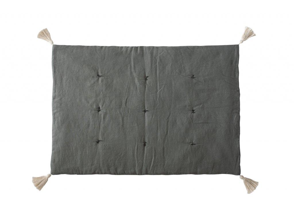 mat linen grey